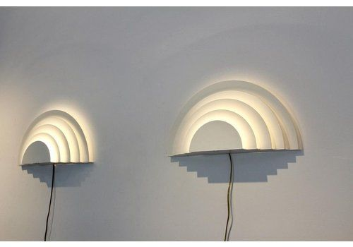 Graphical Meander Sconces By Cesare Casati And Emanuele Ponzio For Raak, Set Of 2