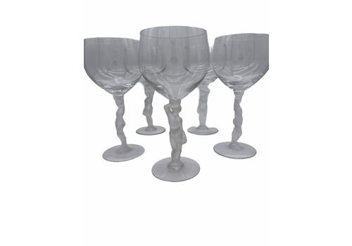 Bayel Frosted Nudes Goblets (S/5)