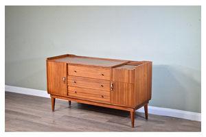 Thumb midcentury petite sideboard cabinet in teak from austinsuite vintage modern retro scandinavian 1960s 0