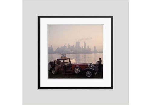 Slim Aarons 'New York Picnic' 1952 C Type Print Framed In Black