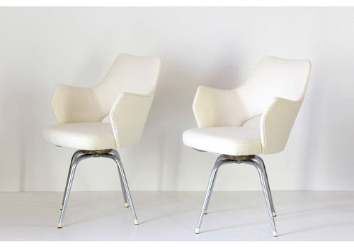 1960s Vintage Swivel Office Chairs, Set Of Two