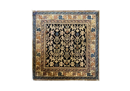 Handwoven Antique Kuban Rug  75x75cm