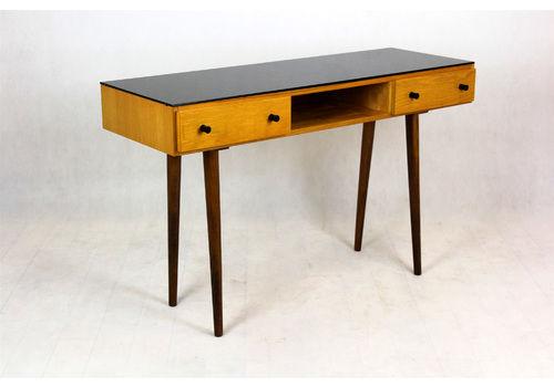 Mid Century Desk By Mojmír Požár For Up Bučovice, 1960s