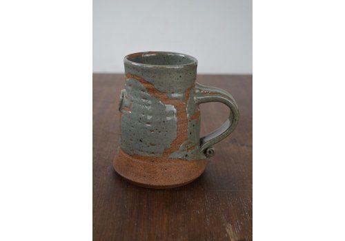Vintage Retro Stoneware Mug
