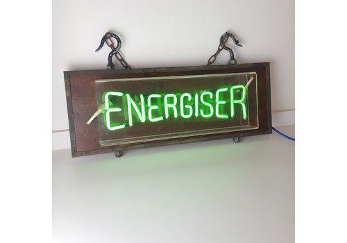 1980s Energiser Hanging Neon Sign