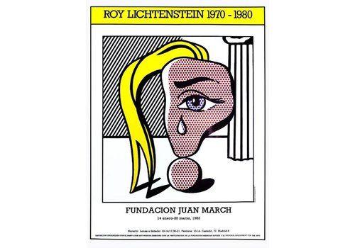 Roy Lichtenstein   Muchacha Con Lágrima 83   Original Vintage Poster