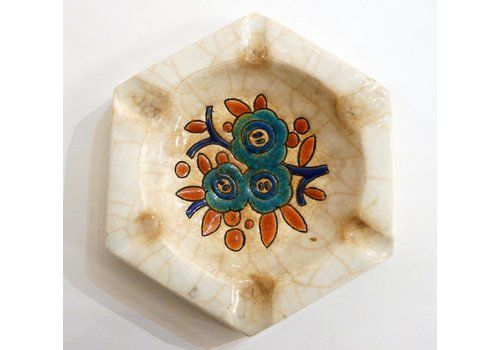 Art Deco Ashtray From Longwy, 1930s