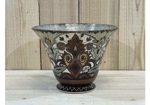 Vase By Paul Fouillen For Quimper Faience, 1930s