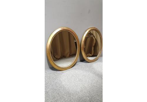 Pair Of English Gilt Victorian Mirrors