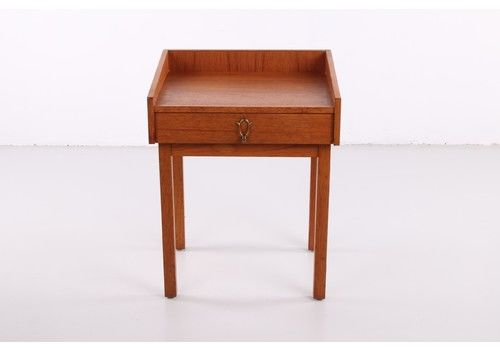 Danish Teak Bedside Table, 1950s Home  Vintage And Design  Furniture  Closets And Cupboards  Danish Teak