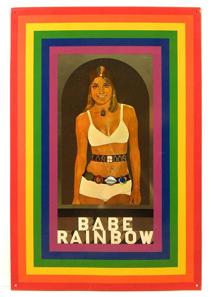 Peter Blake Babe Rainbow