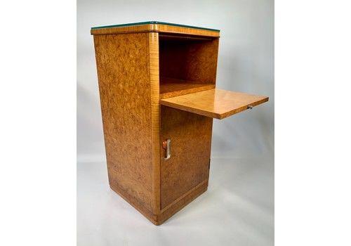 A Fine Art Deco Bedside Cabinet