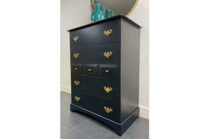 Thumb navy blue stag tallboy 1970s south africa 0