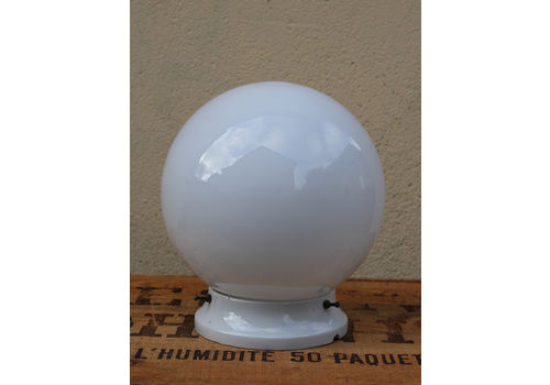 Porcelain And Opaline Ceiling Light