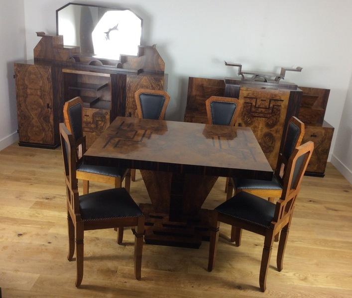 Osvaldo Borsani Art Deco Dining Suite