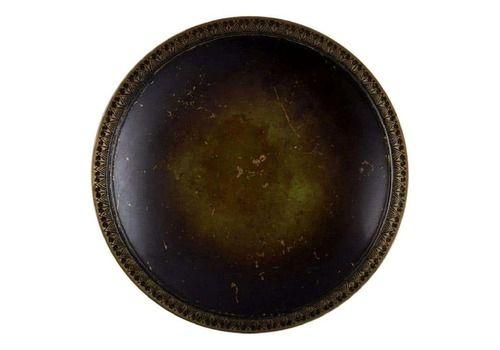 Just Andersen, Denmark, Art Deco Dish / Bowl In Bronze, 1930/40s