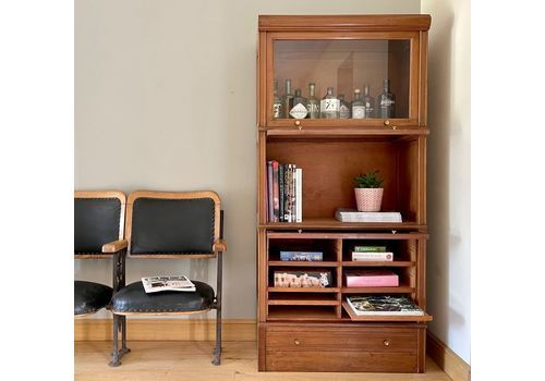 Mid Century Stacking Barristers Bookcase