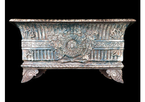 A Pair Of Cast Iron French Jardinieres