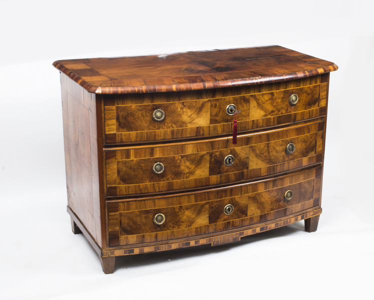 Antique South German Walnut Chest Commode C.1760 photo 1