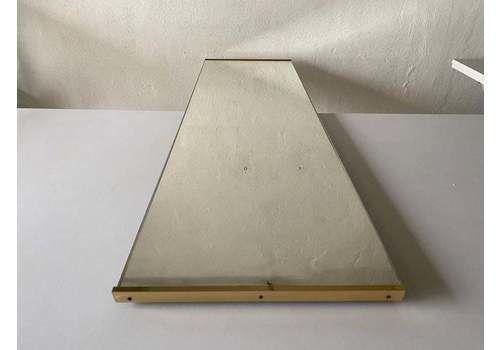 Gold Metal Frame Minimalist Rectangle Tall Dressing Mirror
