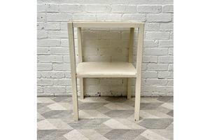Thumb utilitarian wooden side table 0