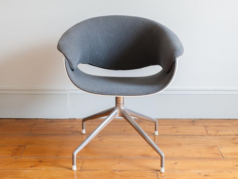 Set Of 6 Uwe Fischer For B&B Italia Sina Dining Chairs photo 1