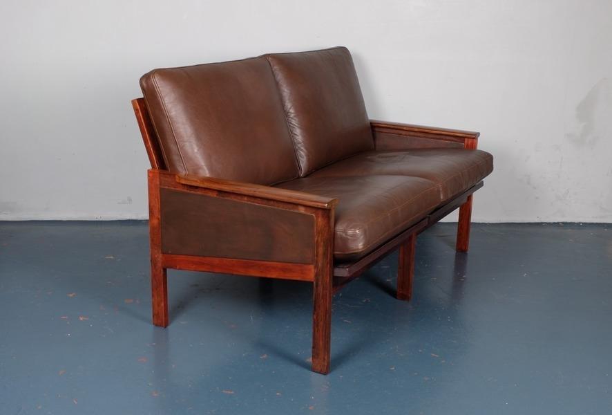 Illum Wikkelso For Eilersen Rosewood Sofa photo 1
