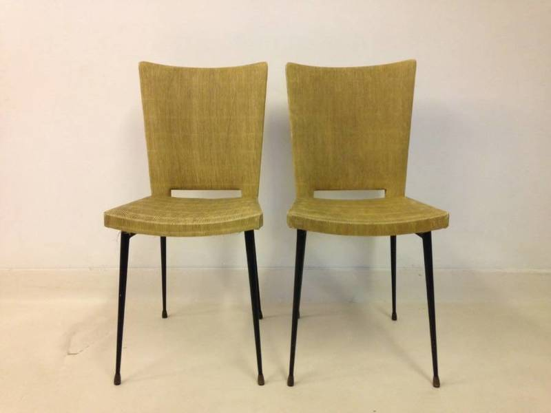 A Pair Of French 1950s Chairs By Colette Gueden