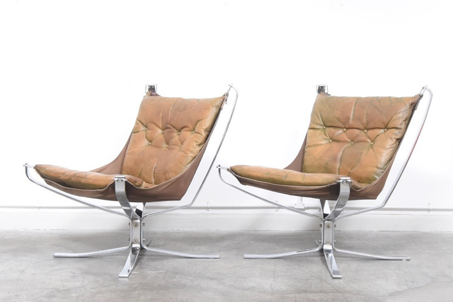 Sigurd Ressell For Vatne Møbler Falcon Chair