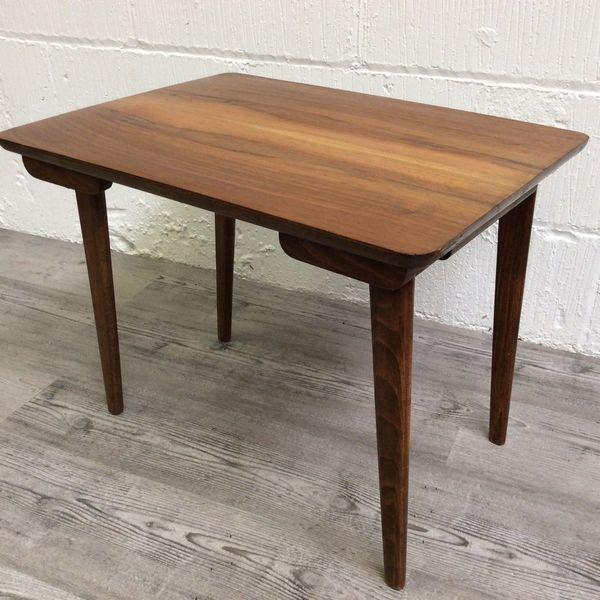 Folding Teak Side Table.Danish Folding Teak Coffee Table Side Table Vintage Retro