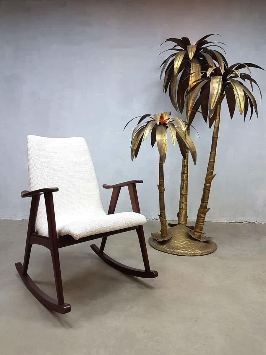 Ongekend Vintage Schommelstoel Rocking Chair Webe Louis Van Teeffelen XP-07
