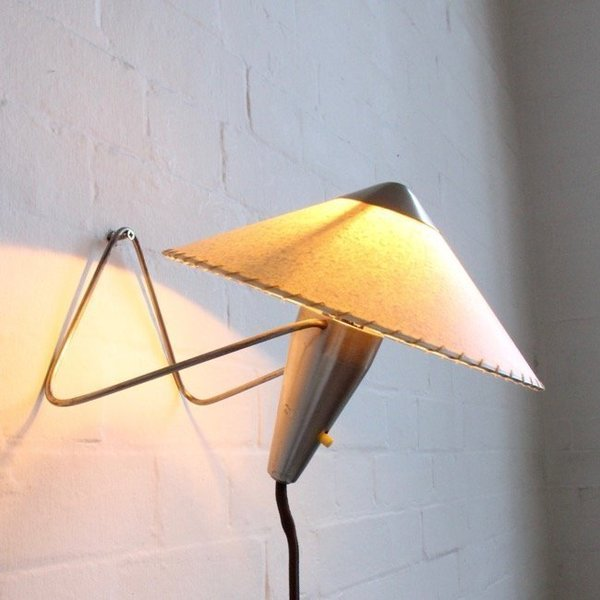 Helena Frantova For Okolo Nickel Table Or Wall Lamps