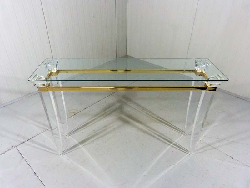 Hollywood Regency Console Table, Italy