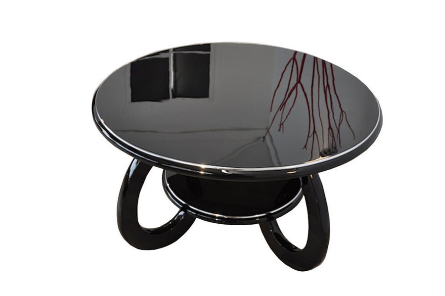 Round Art Deco Coffee Table