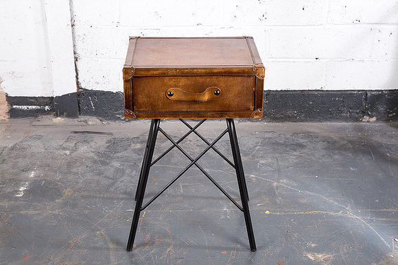 Upcycled Suitcase Table