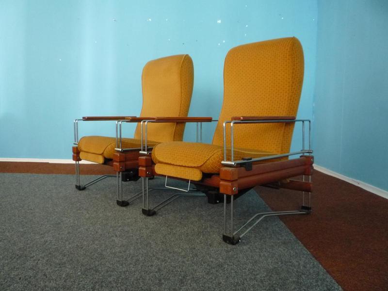 Vintage Klubsessel, 1960er, 2er Set