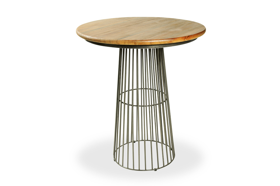 Cage Base Poseur Table