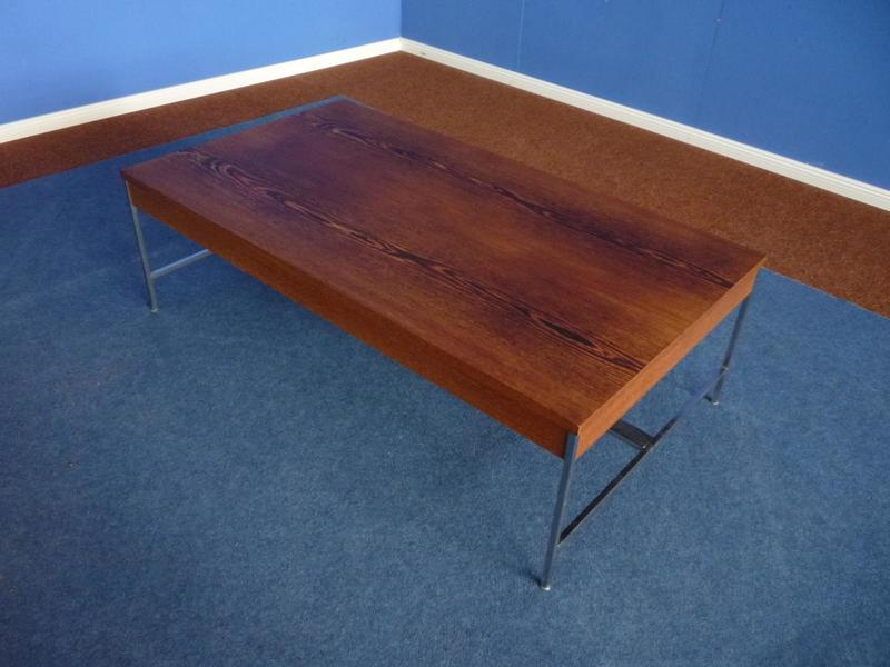 Wengewood Coffee Table By George Nelson For Herman Miller, 1957