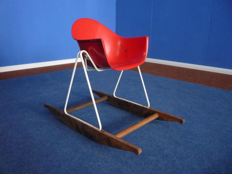 Children Rocking Chair By Walter Papst For Wilkhahn, 1950s