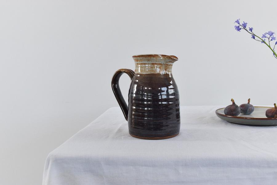 Vintage Large Studio Ceramic Jug / Vase
