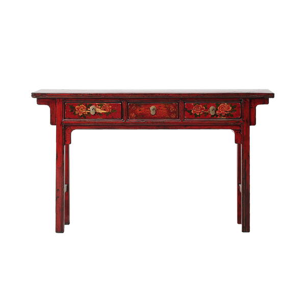 Vintage Chinese Console Table From Gansu