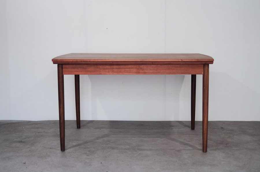 Teak Extendable Dining Table From P. Westergaard Møbelfabrik, 1960s