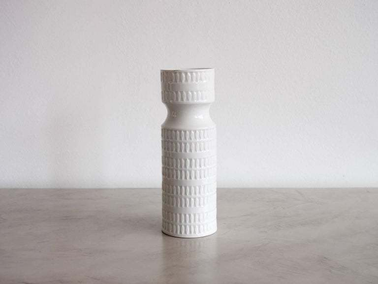 Hutschenreuther White Porcelain Vase