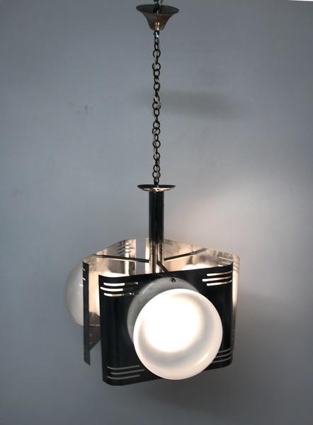 Italian Midcentury Light Pendant