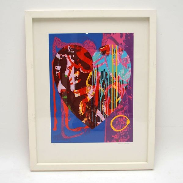 Claire's Inspiration – Signed Limited Edition Silkscreen Print By Maurice Cockrill 6/150