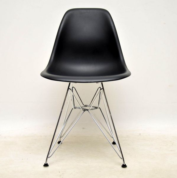 Genuine Eames Plastic Shell Chair By Vitra