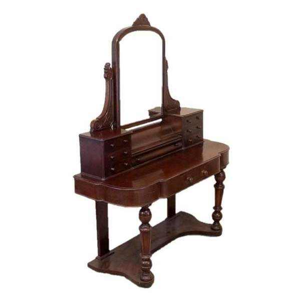 Victorian Antique Mahogany Bedroom Dressing Table
