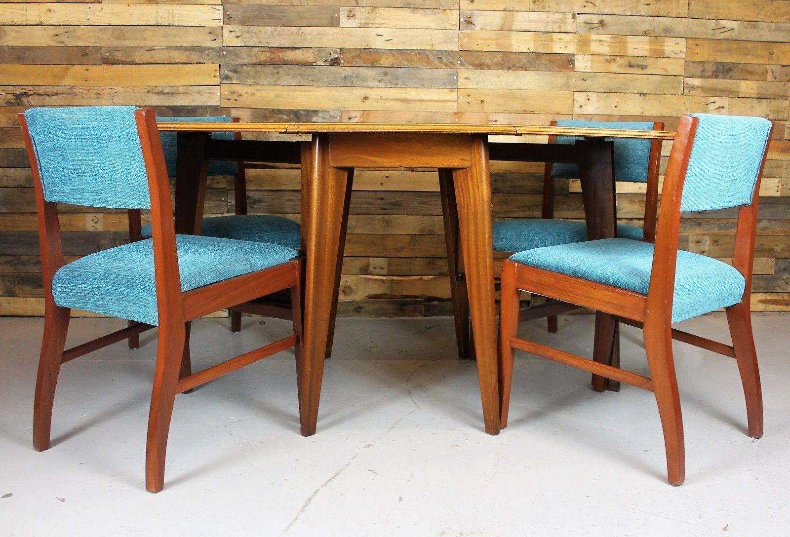 Vintage Retro Mid Century Morris Of Glasgow Cumbrae Range Dining Table And Chair Neil Morris Vinterior
