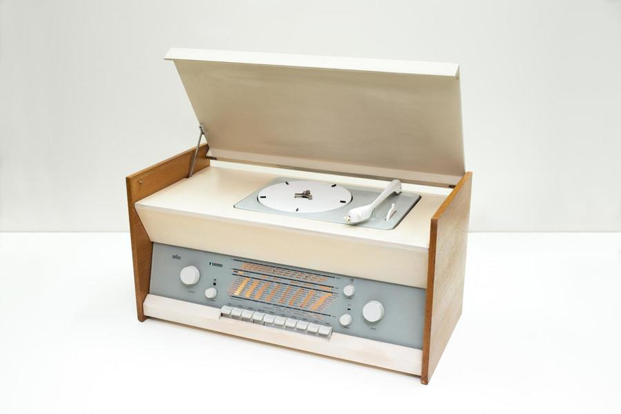 Series Atelier 1 81 Turntable By Dieter Rams For Braun, 1960s