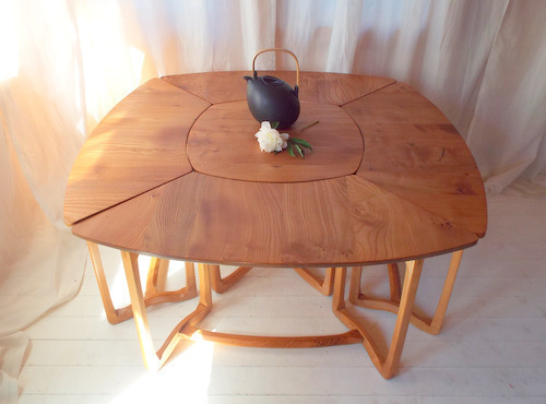Ercol 515 And 516 Set Of Supper Tables, 1967 1970